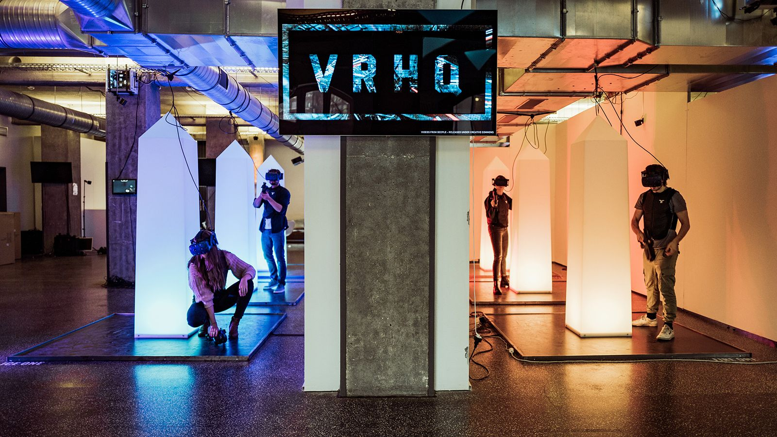 Virtual Reality Headquarter in Hamburg